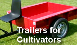 Trailers for Cultivators