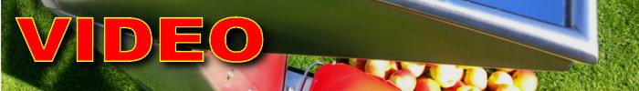 Video drcení drtičem SHARK Fruit