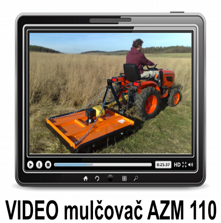 VIDEO  AZM 110 girobroyeur