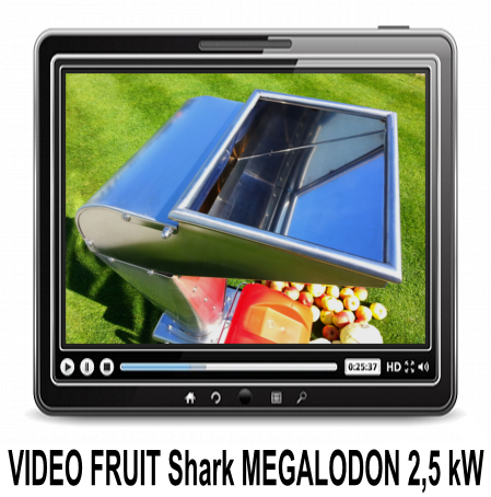 Video FRUIT SHARK 1,6 kW