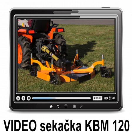 VIDEO KBM FINISH MOWER
