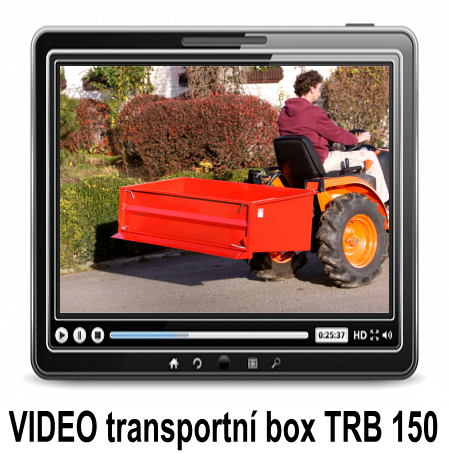 VIDEO TRANSPORT BOX FOR MUNICIPAL TRACTORS