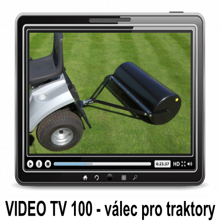 Video - Lawn roller for tractors and ATVs