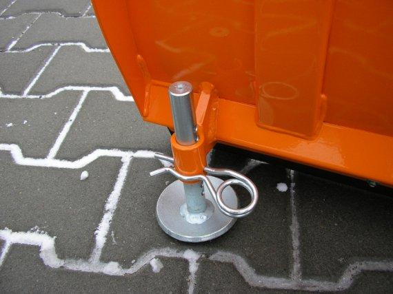 Radlice ATV 1,18m KOMFORT detail vodícího talířku