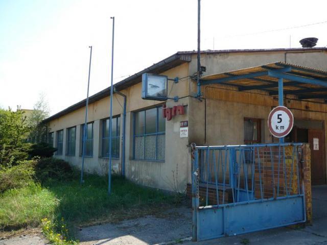 Administrativní budova původní stav