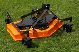 THREE-BLADE FINISH MOWER HSM 120