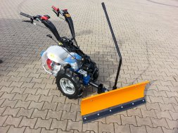 SNOW PLOUGH  for CULTIVATORS 1 m COMFORT, control from the driver´s seat