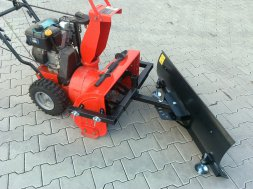 UNIVERSAL SNOW PLOUGH  for Snow Blowers and Cultivators 0,8 m