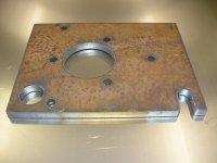Bok komory lisu - spodní strana bez obrusu - ocel 30 mm