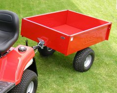 TR 220S  -  VARES TRAILER FOR GARDEN TRACTORS